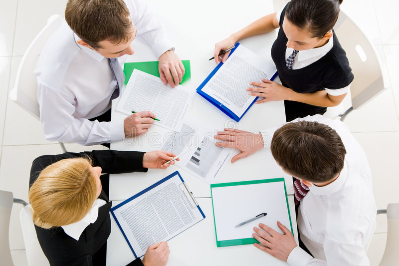 Download Corporate work stock image. Image of explaining, business - 8661359