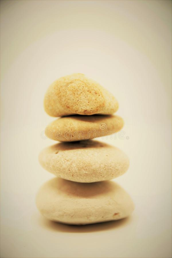 Corporate zen stones and meditation pebbles tower relax for mind and body tower stones zen. Wellness royalty free stock image