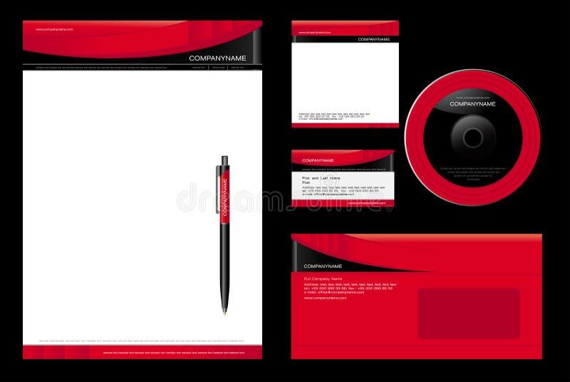 CorporateTemplate vector illustratie