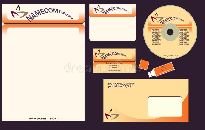 Corporativo ilustração royalty free