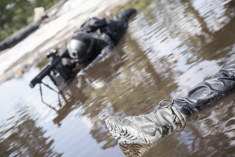 Corpos de operadores das forças especiais fotos de stock royalty free