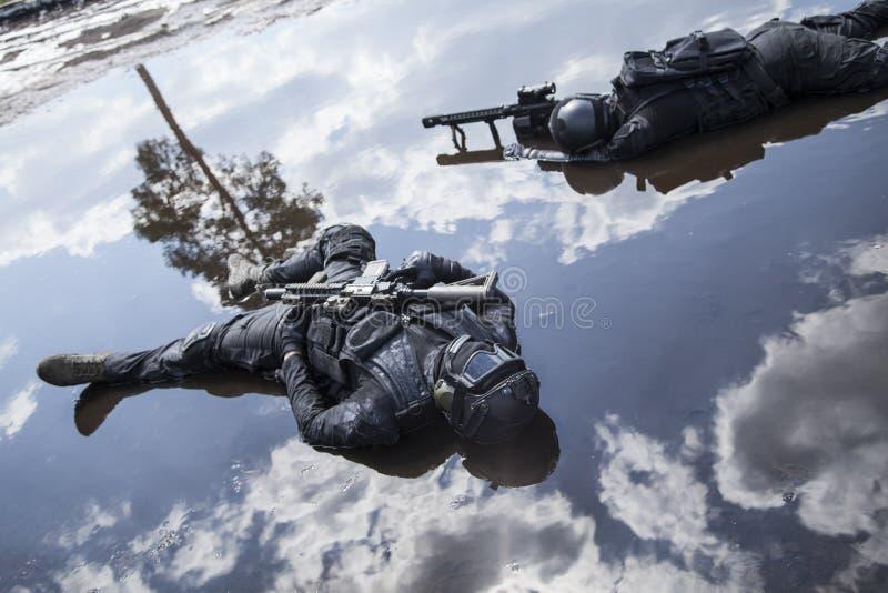 Corpos de operadores das forças especiais imagem de stock royalty free