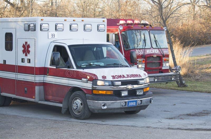 Corps de sapeurs-pompiers de Kansas City Missouri image stock