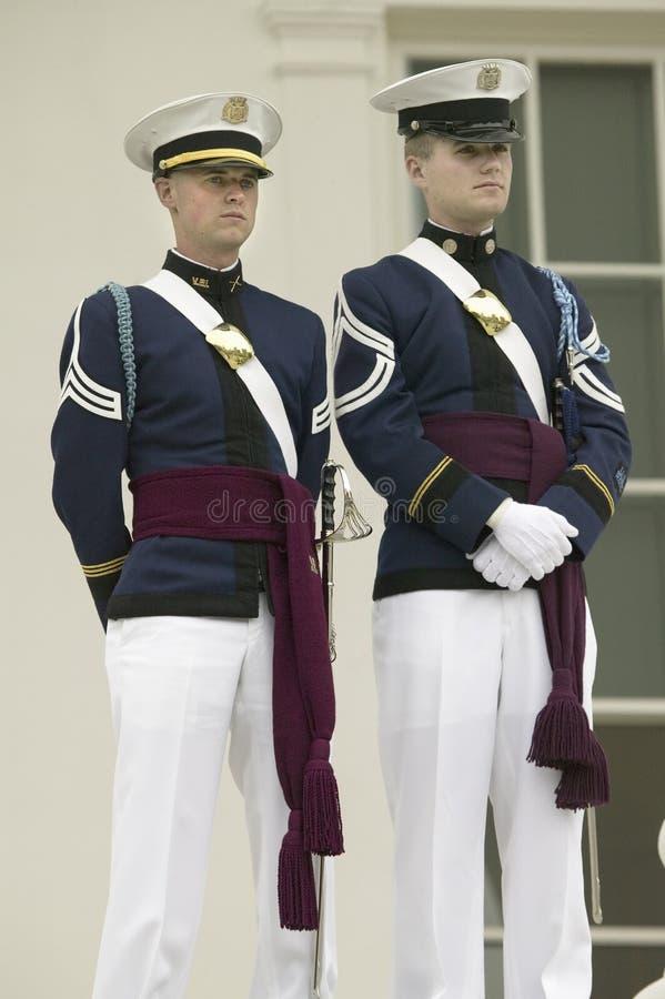 Corps de technologie de la Virginie des cadets photos stock
