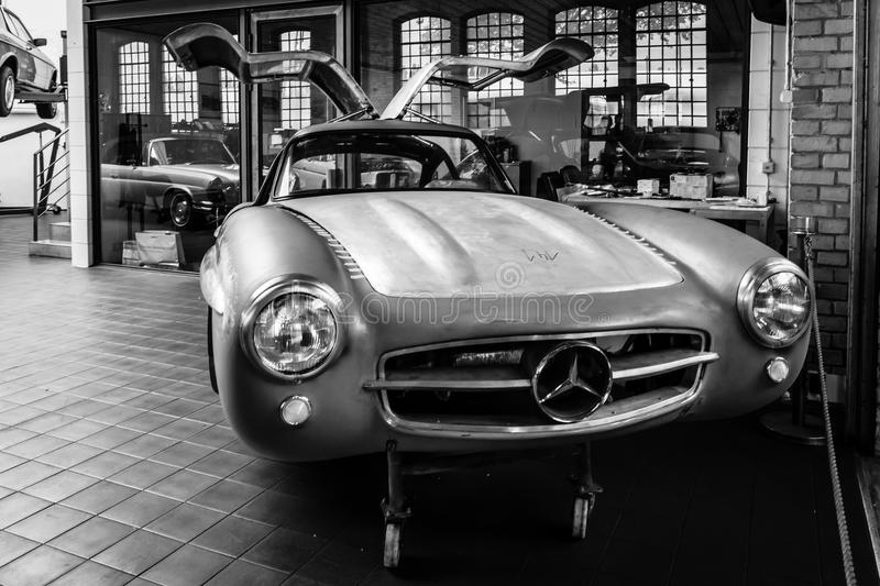 Corps Mercedes-Benz 300SL (W198) photographie stock