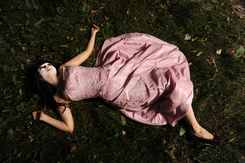 Download Corpse in the forest stock image. Image of makeup, loneliness - 17205623