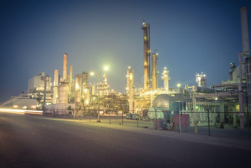 Corpus Christi de raffinerie de pétrole, le Texas, Etats-Unis images libres de droits