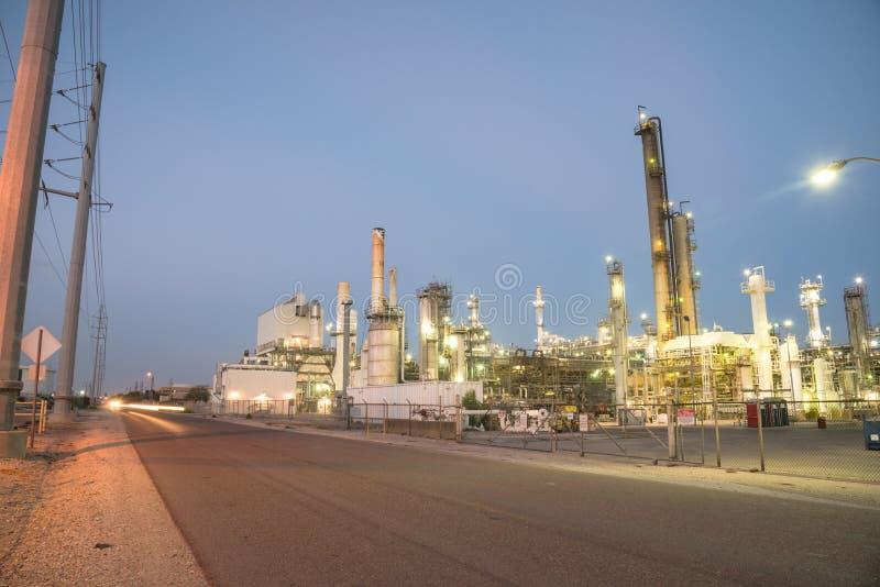 Corpus Christi de raffinerie de pétrole, le Texas, Etats-Unis photo libre de droits