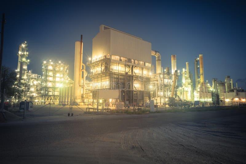 Corpus Christi de raffinerie de pétrole, le Texas, Etats-Unis image libre de droits
