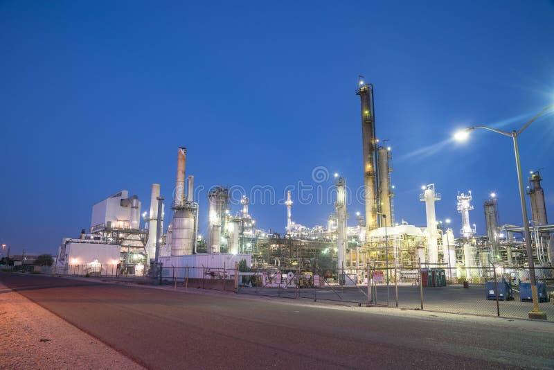 Corpus Christi de raffinerie de pétrole, le Texas, Etats-Unis image stock