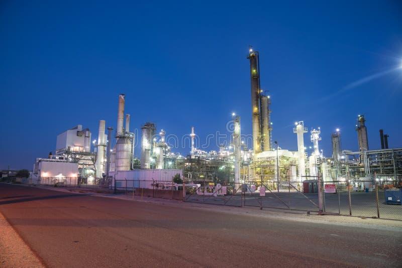 Corpus Christi de raffinerie de pétrole, le Texas, Etats-Unis images stock