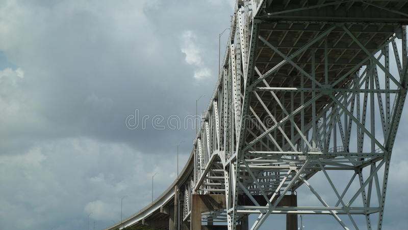 Corpus Christi Harbor Bridge imagem de stock royalty free