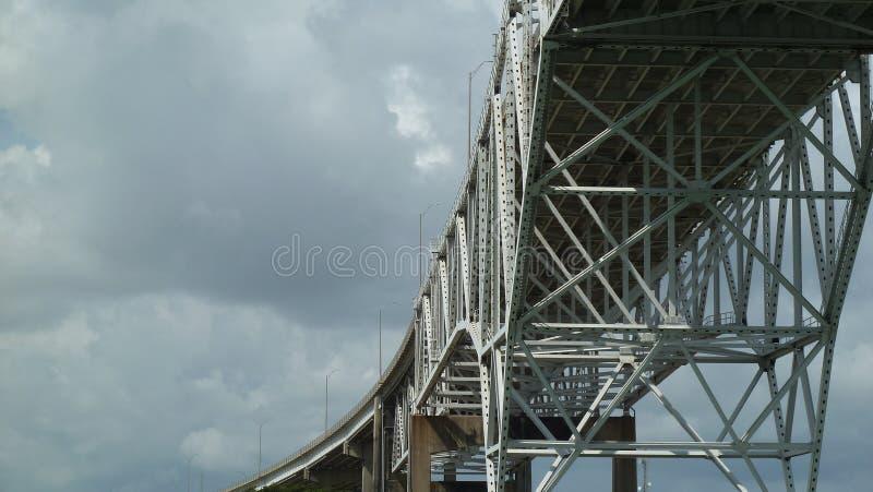 Corpus Christi Harbor Bridge royalty-vrije stock afbeelding