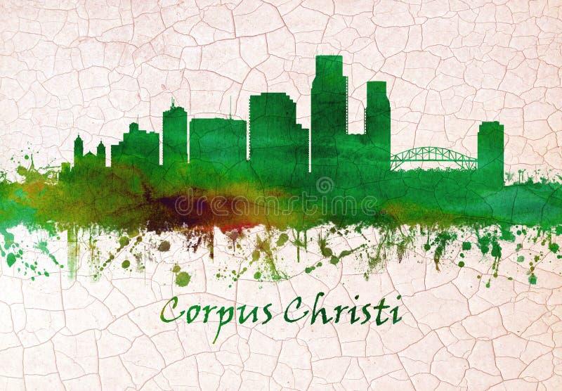 Corpus Christihorizon stock illustratie