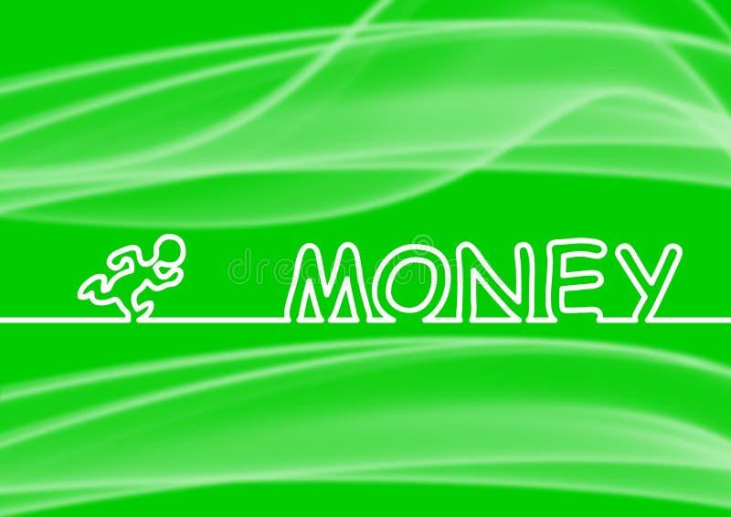 Corra al dinero libre illustration