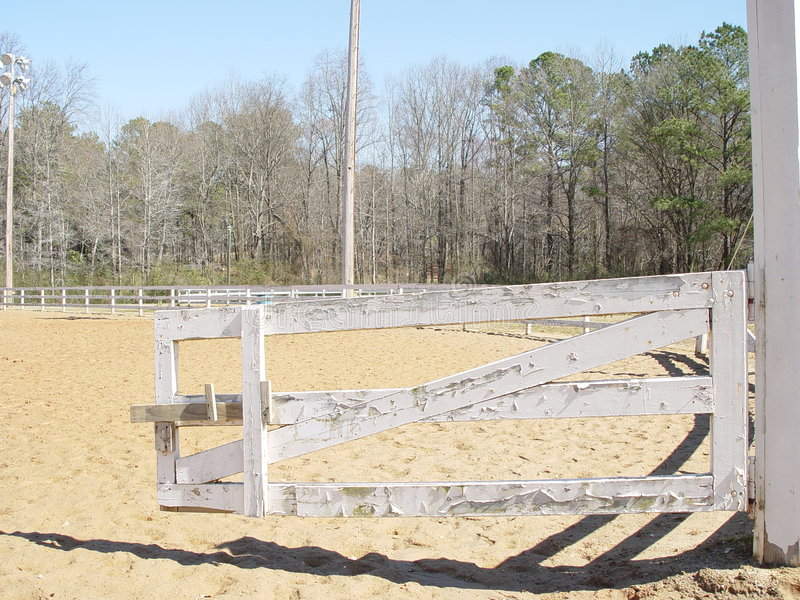 Download Corral Fence stock image. Image of sand, corral, fence - 106535