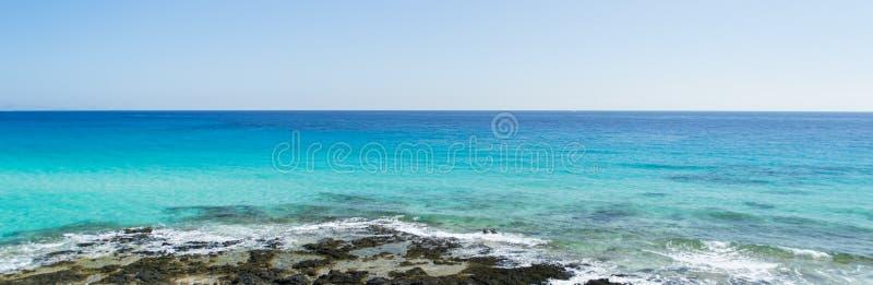 Corralejo国家公园,加那利群岛 免版税图库摄影