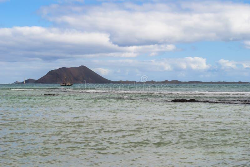 Corralejo -北费埃特文图拉岛 库存照片