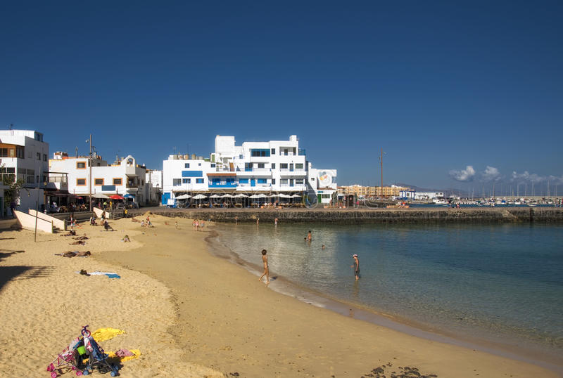 Corralejo, Fuerteventura royalty free stock photography