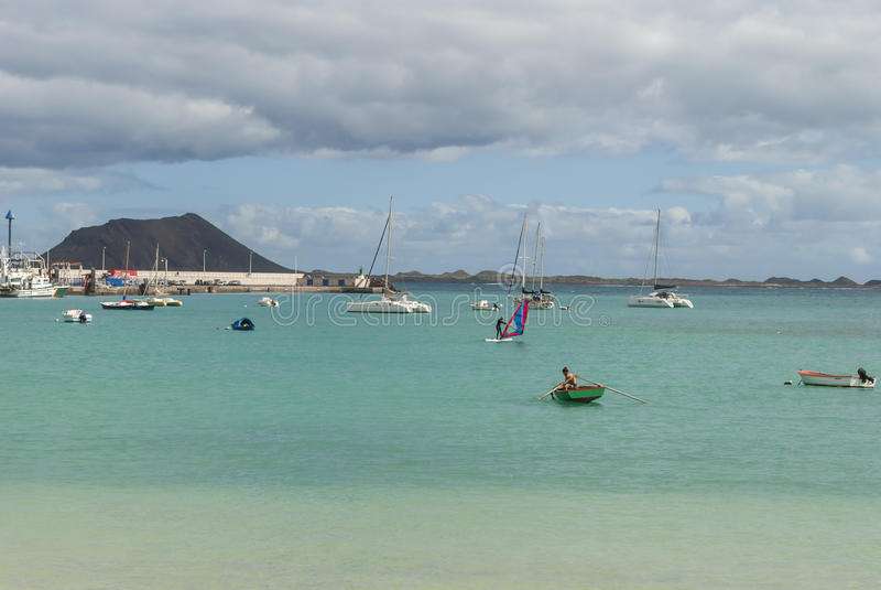 Corralejo (Fuerteventura) stock images