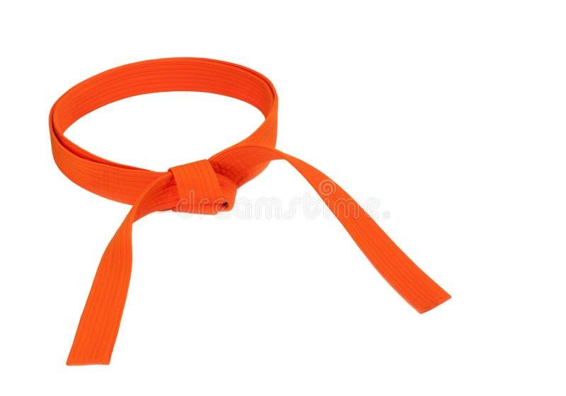 Correa anaranjada imagen de archivo libre de regalías