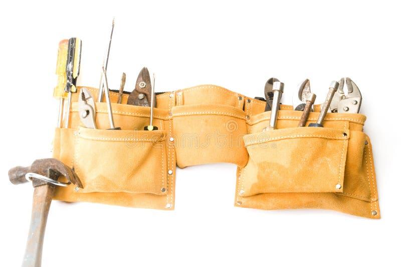 Correa de cuero de la herramienta del ante fotografía de archivo libre de regalías