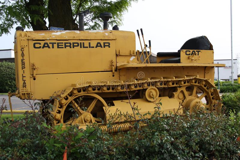 Correa eslabonada 2019 de Caterpillar imagenes de archivo