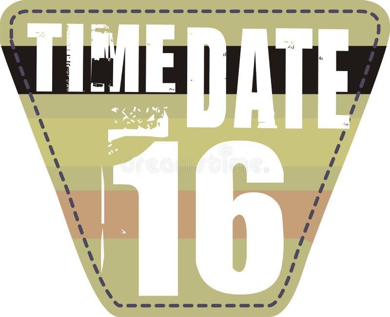 Corrección de la fecha del tiempo imagen de archivo libre de regalías