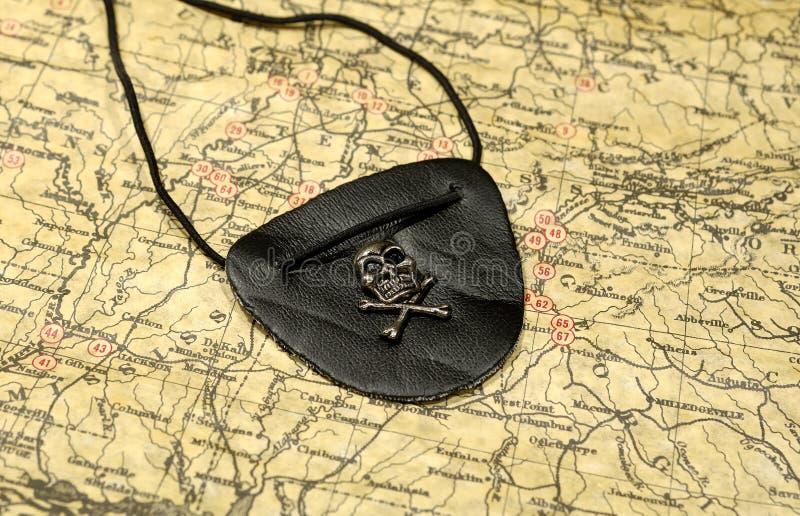 Corrección del ojo de los piratas imagen de archivo libre de regalías
