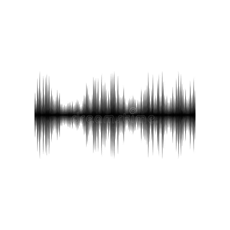 Correcte of audiogolf vector illustratie