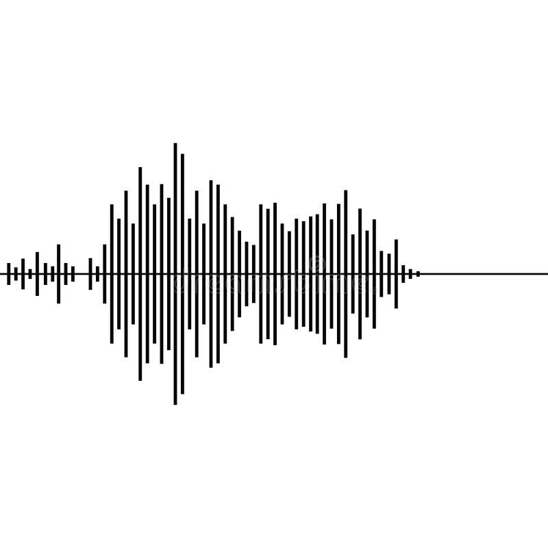 Correcte golfvector vector illustratie