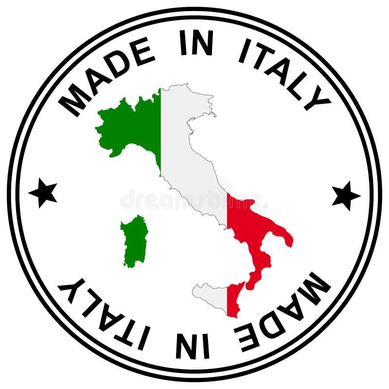 """Correction """" ; Fabriqué en Italie illustration de vecteur"""