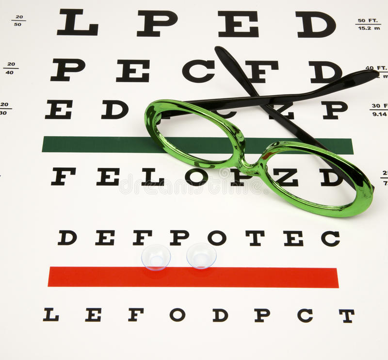 Corrective Lenses Royalty Free Stock Photography