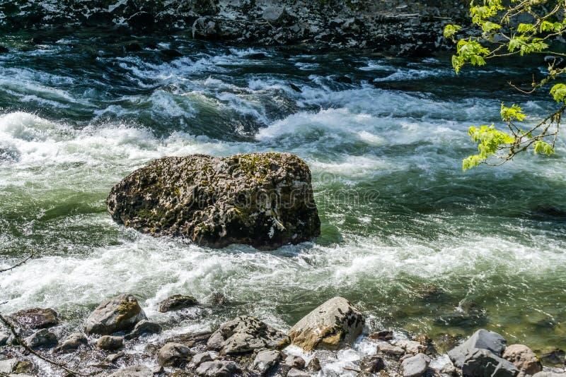 Corredeira 3 de White River imagens de stock royalty free