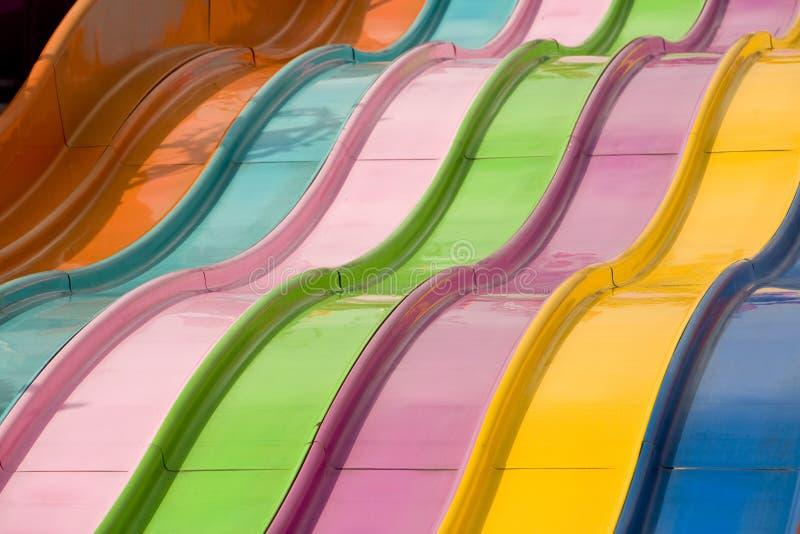Corrediça do arco-íris imagens de stock