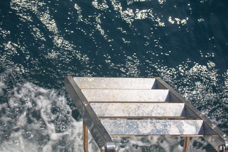 Corredor central do navio foto de stock royalty free