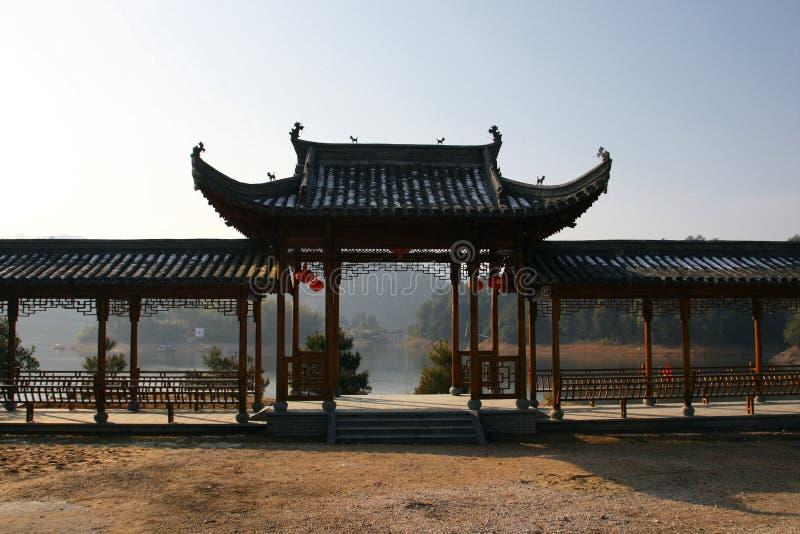 Corredor chinês fotos de stock royalty free