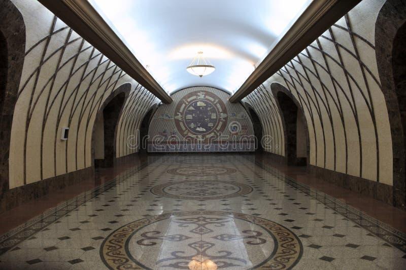 Corredor da estação de metro foto de stock royalty free
