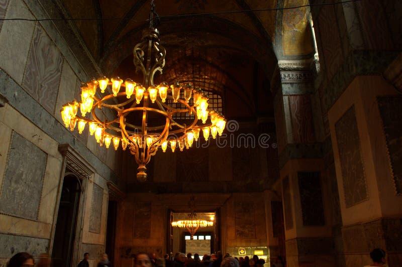 Corredor de Hagia Sophia imagens de stock