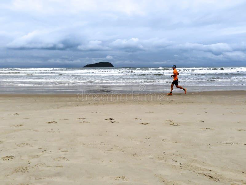Corredor de maratón imagen de archivo