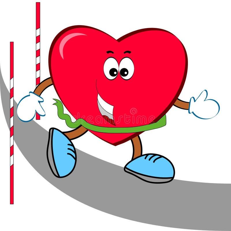 Corredor del corazón fotografía de archivo libre de regalías