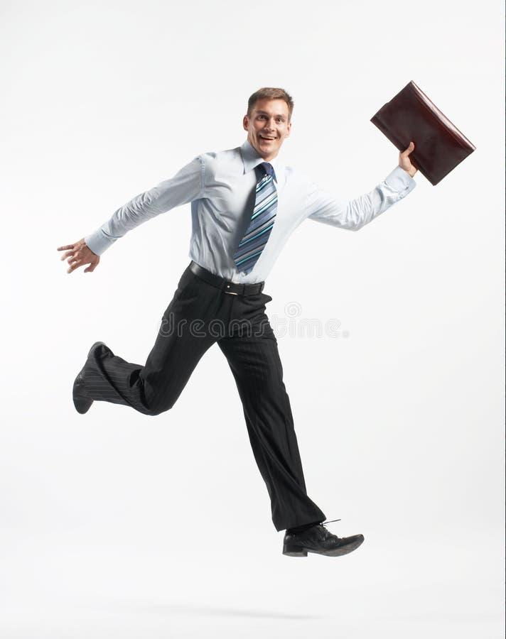 Corredor do homem de negócios imagem de stock