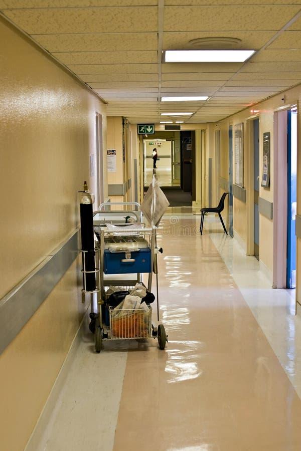 Corredor do hospital fotos de stock royalty free