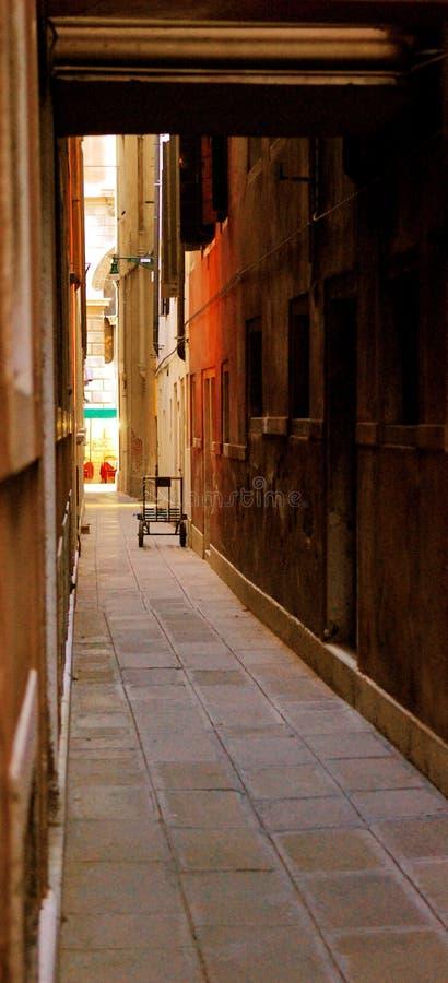 Corredor em Veneza foto de stock royalty free