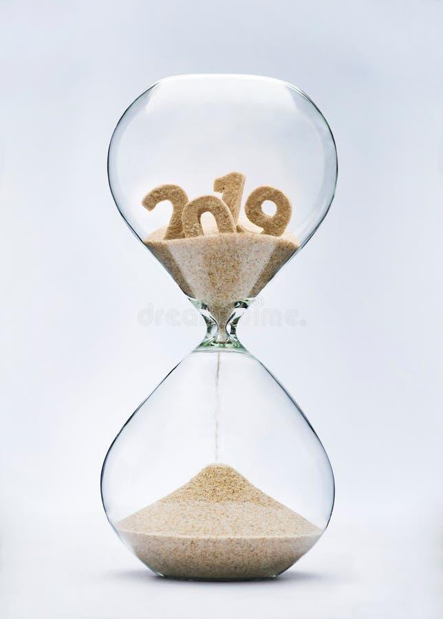 corredor 2019 fora do tempo imagens de stock