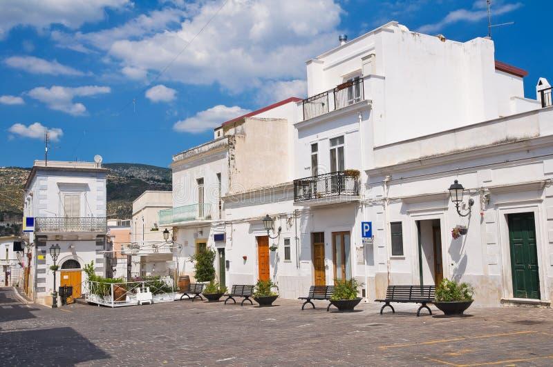 Corredor. Mattinata. Puglia. Itália. imagem de stock