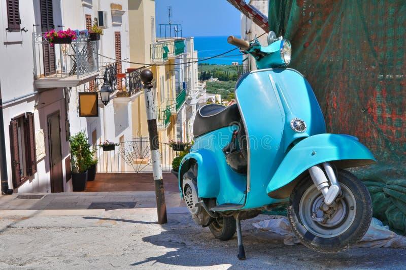 Corredor. Mattinata. Puglia. Itália. imagem de stock royalty free