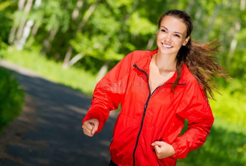 Corredor novo saudável do atleta fêmea fotos de stock