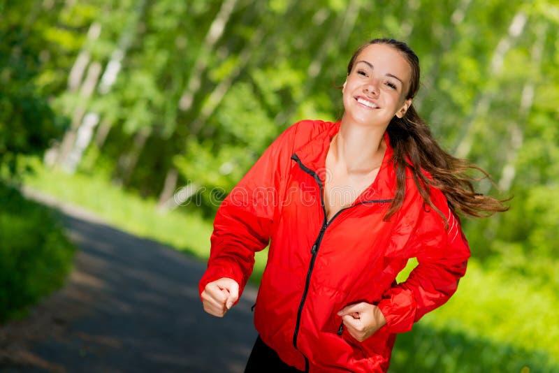 Corredor novo saudável do atleta fêmea fotos de stock royalty free