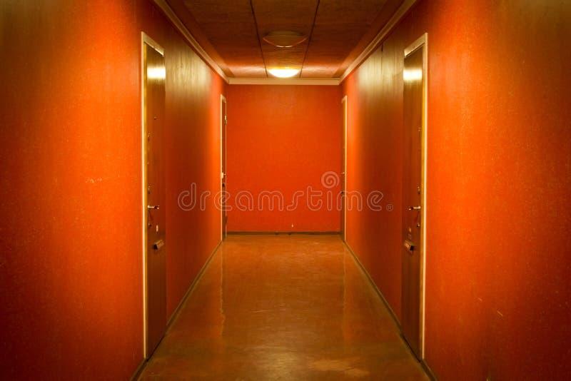 Corredor do apartamento foto de stock royalty free